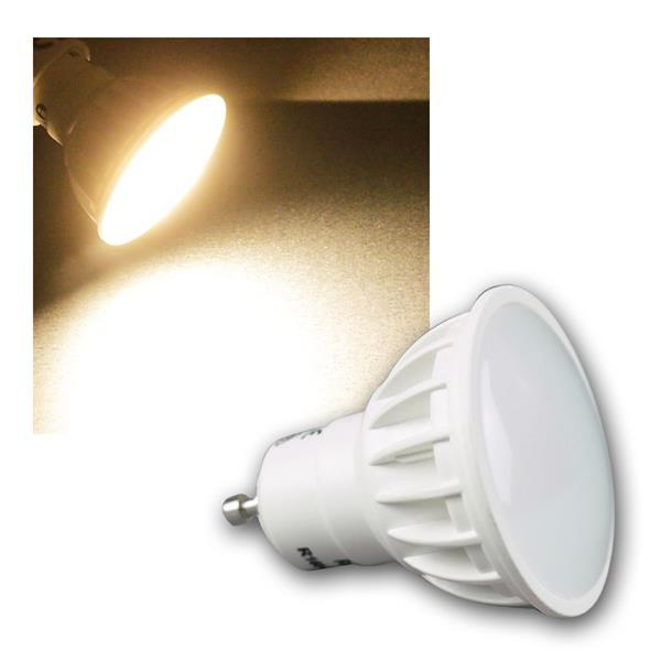 GU10 Leuchtmittel, LED warmweiß, 7W, 500lm