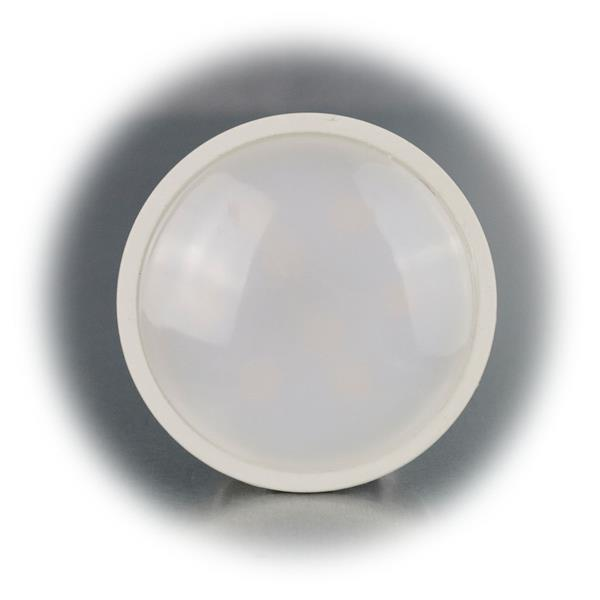 GU10 LED Spot für 230V mit dem Maß 50x53mm (øxL) im bruchsicherem Kunststoffgehäuse