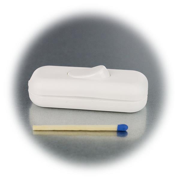Optisch eleganter Wippschalter mit kleinen Abmaßen