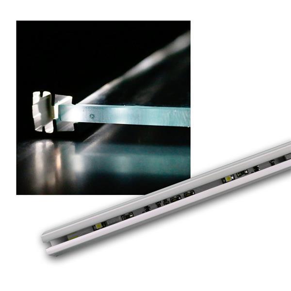 LED Glasbodenleuchte, 12V 0,5W, 27cm, 4x SMD