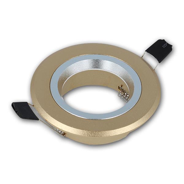 Einbaustrahler MR16 Silber/Gold, 12V max 50W