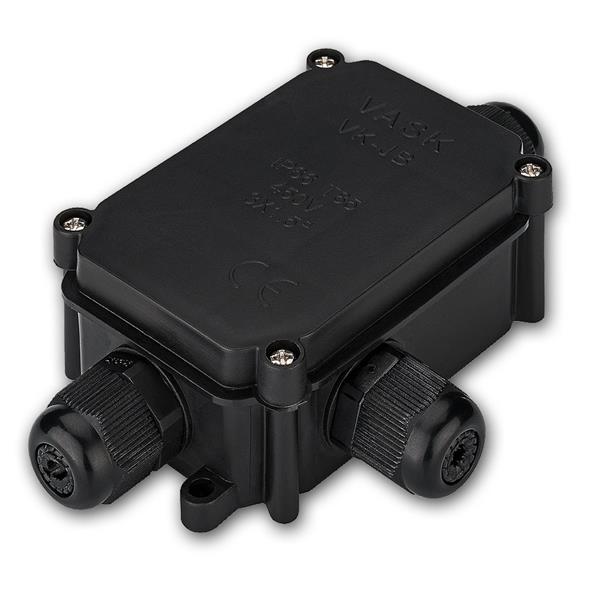 Schutzbox für Lüsterklemmen IP66, für 3 Kabel