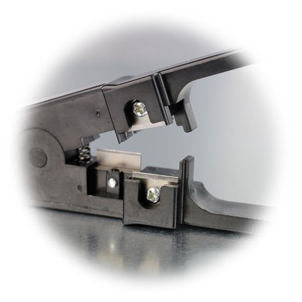 Werkzeug mit justierbare Messer und Kabelschneider