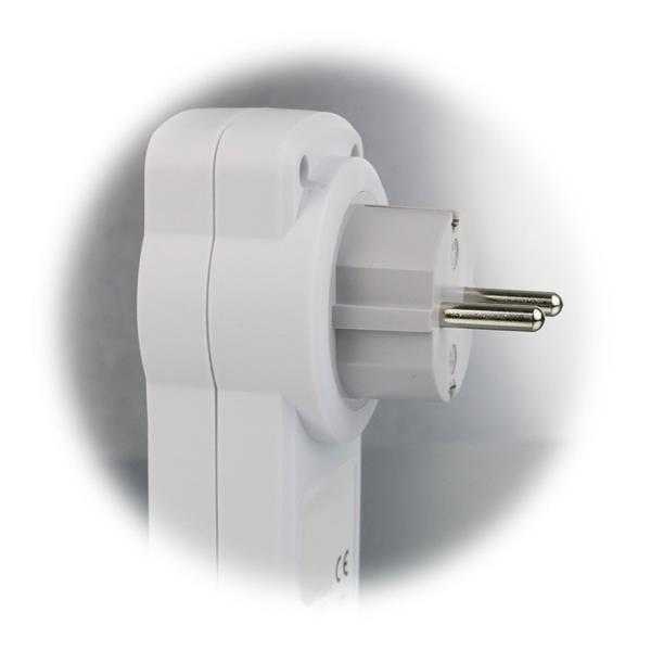 2 USB-Ausgänge zum zeitgleichen Laden von 2 Geräten