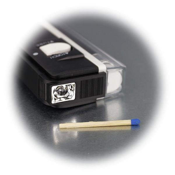 mobilen UV-Lampe zum Prüfen von Geldscheinen, Kreditkarten, Briefmarken