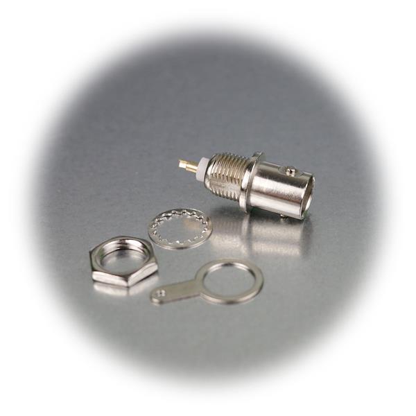 Steckverbinder mit Lötanschluss für die Gehäusedurchführung
