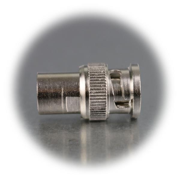 Steckverbinder mit Schraubanschluss und Gold-Pin