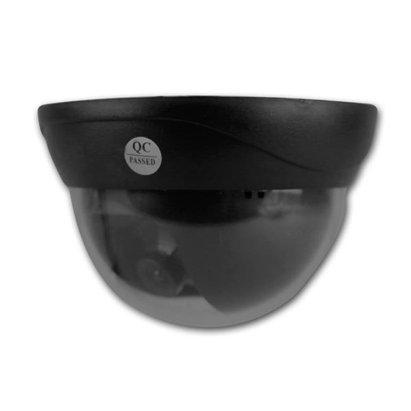 Tag/Nacht Dome-Kamera schwarz, CCD Color, BNC, IR
