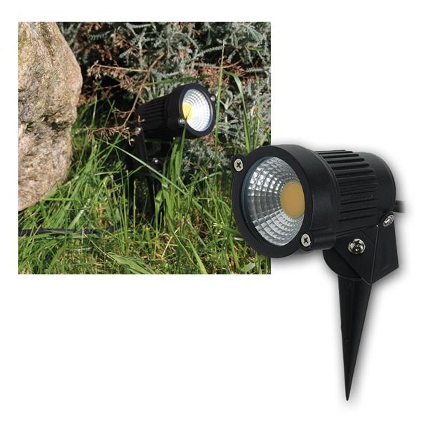 LED Gartenleuchte CT-GS5 COB warmweiß 5W 230V IP44