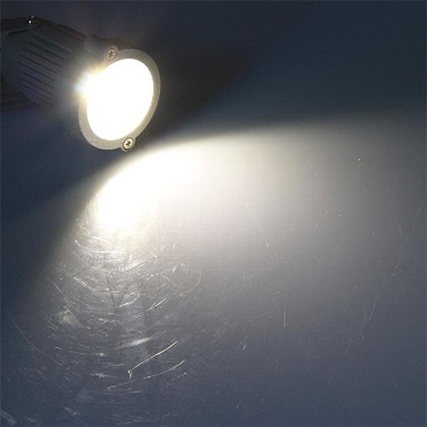 schmutz- & spritzwassergeschützter LED Spot mit neutral weißer COB-LED