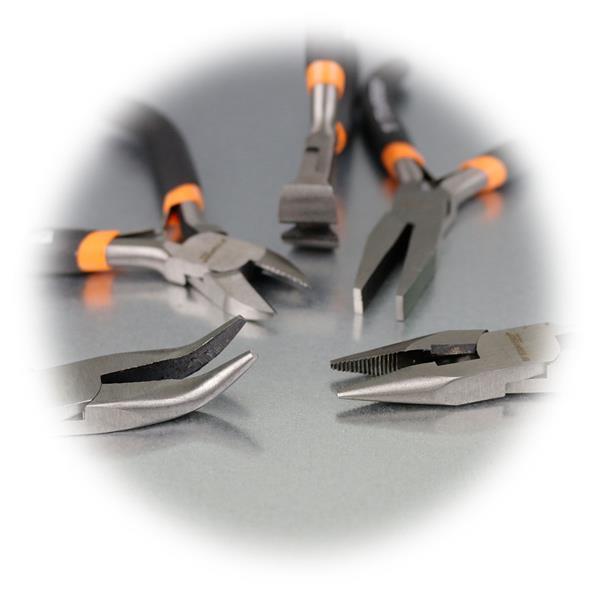 hochpräzise Kleinzangen aus extra gehärteten Werkzeugstahl