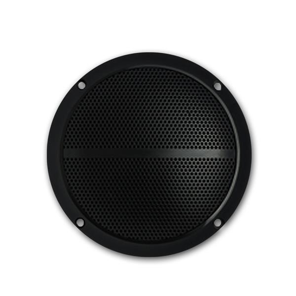 Paar Außen-Lautsprecher schwarz  8 Ohm 5 Zoll 80W