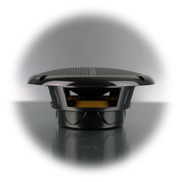 Lautsprecher aus schlagfesten Kunststoff mit Membran