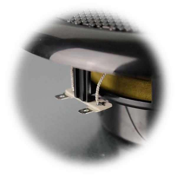 abgerundeter Rand für perfekte Optik im Bad oder auf dem Boot