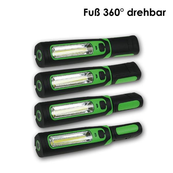 LED Arbeitsleuchte mit praktischen drehbaren Griff