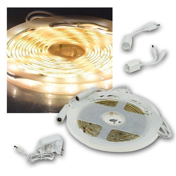 LED Bettenbeleuchtung mit Bewegungsmelder warm weiß