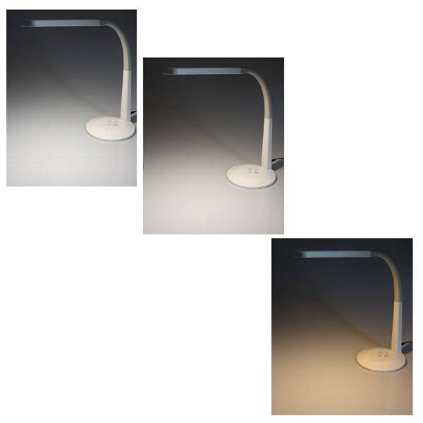Leuchtfarbe ist von neutral weiß bis warm weiß einstellbar