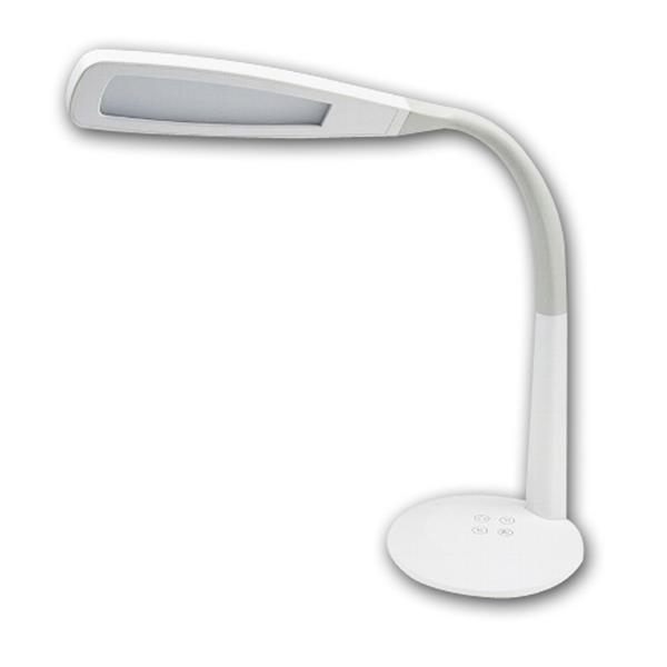 flexibler Halses zum gezielten Ausrichten des Leuchtenkopf