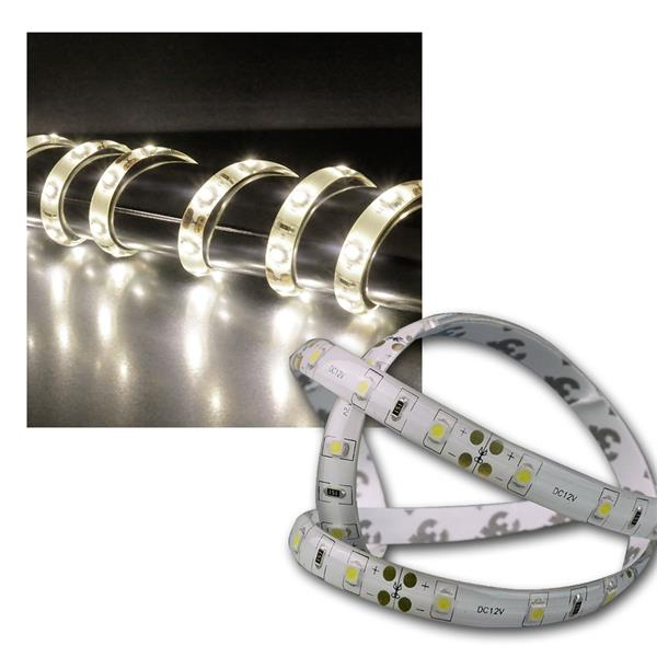 10m LED Stripe CLS WEISS 12V/ca.42 W IP44 600 LEDs