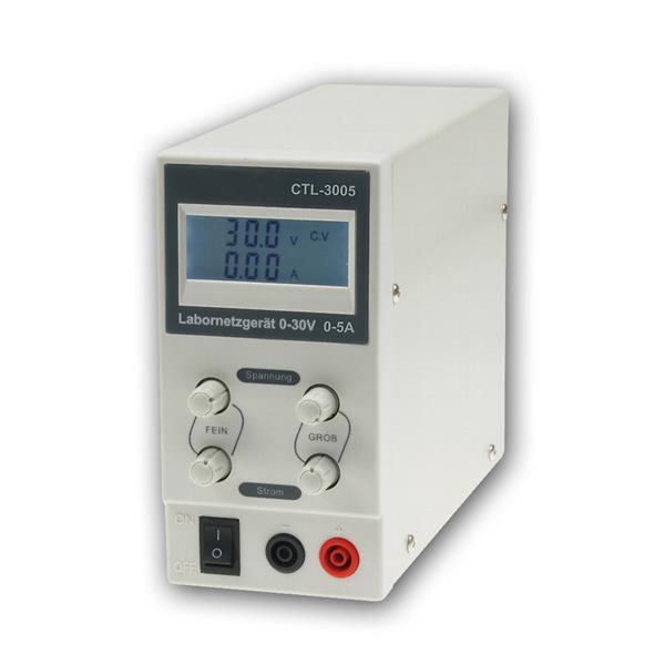 Labornetzgerät regelbar CTL-3005, 0-30V, 0-5A