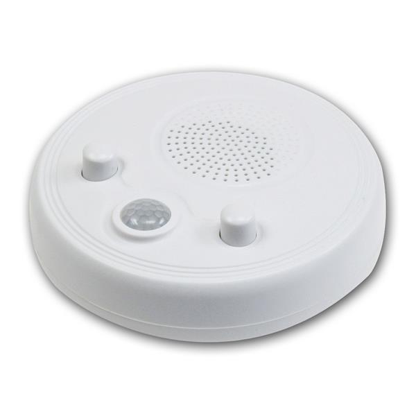 Wand- & Deckenradio mit PIR-Sensor Batteriebetrieb