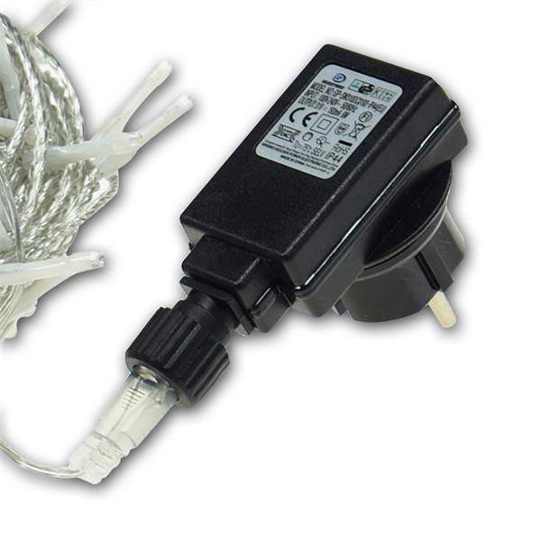 direkter Anschluss an 230V mittels Steckernetzteil 31V DC/193mA