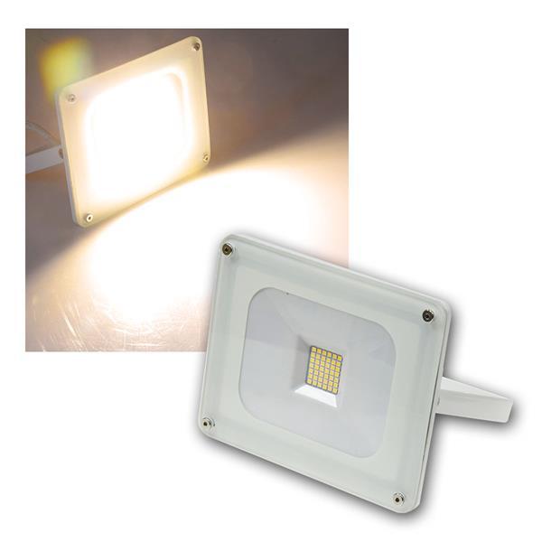 LED Fluter Glasfront weiß 30W warmweiß 2000lm IP44