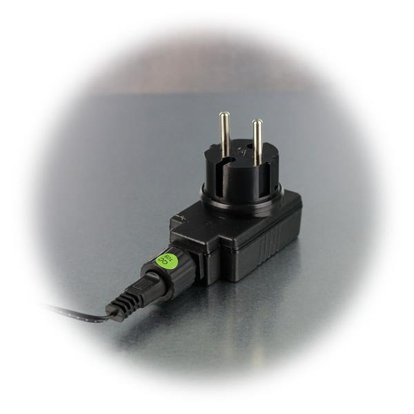 LED Kugel Lichterkette für direkten Anschluss an 230V