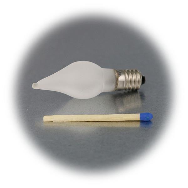 LED E10 Ersatzkerze für Schwibbögen oder Lichterketten