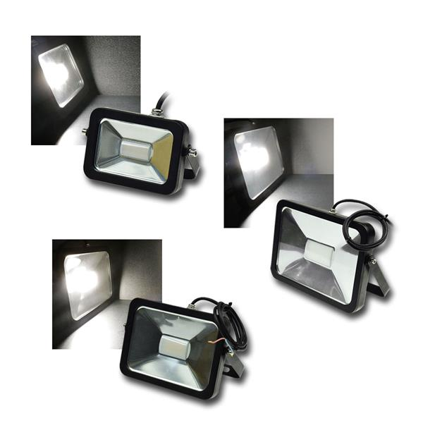 LED Fluter SlimLine 10/30/50W 12-24V ChiliTec