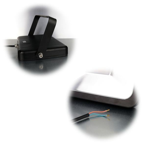 Neutralweißer LED-Fluter mit 10, 30 oder 50W