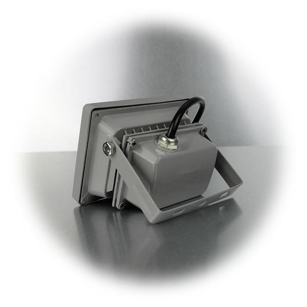 LED Highpowerstrahler mit stufenlos drehbarer Halterung