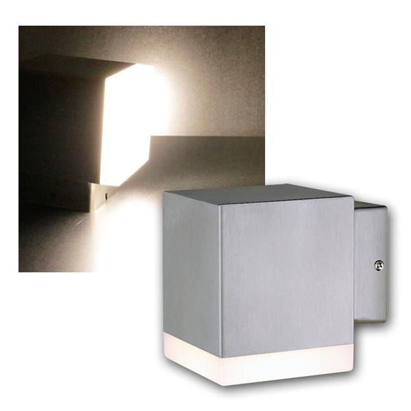 LED Wandleuchte Cedros-7 warmweiß 450lm 230V IP44