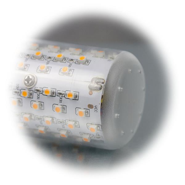 LED Strahler mit SMD LEDs und klarem Leuchtkörper