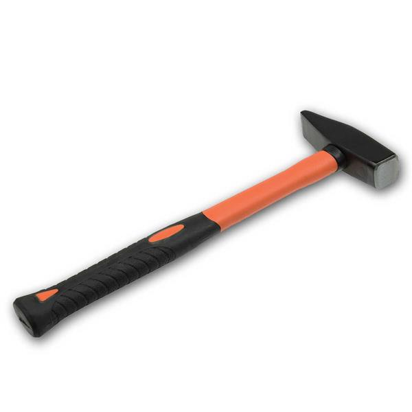 Schlosserhammer 500g mit Fiberglas-Griff Hammer