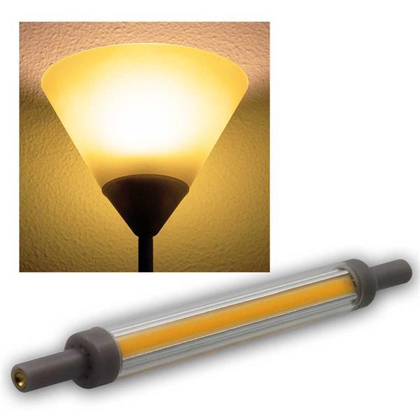 R7s Leuchtstab SLIM 118mm warmweiß 830lm 360° 10W