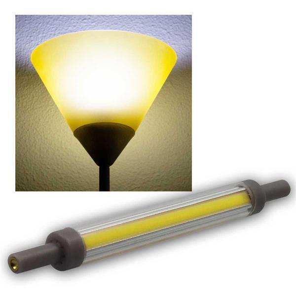 R7s Leuchtstab SLIM 118mm neutralw 850lm 360° 10W