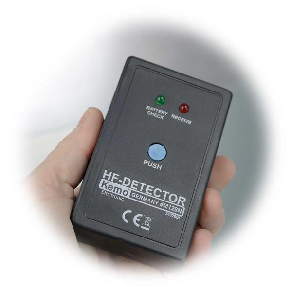 Mini-Spion-Finder für die Hosentasche mit LED Anzeige