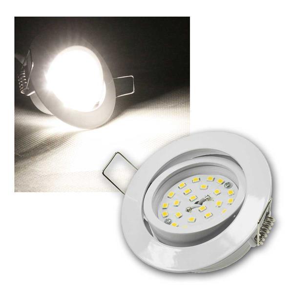 Einbaustrahler Flat-32dim Weiß, LED daylight 440lm