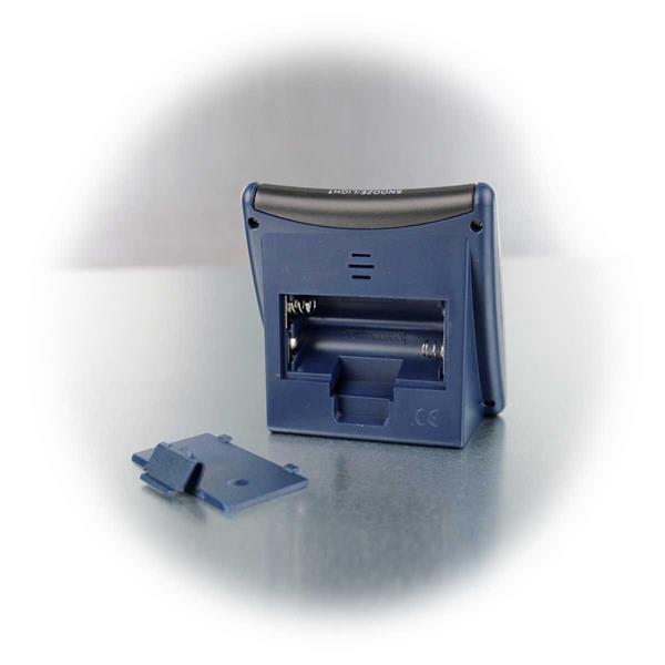 vollautomatische Funkuhr für 2x AAA Batterien