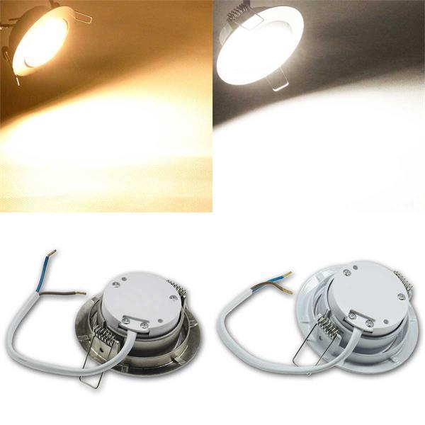 Komplett-Sets LED-Einbaustrahler in 14 Varianten