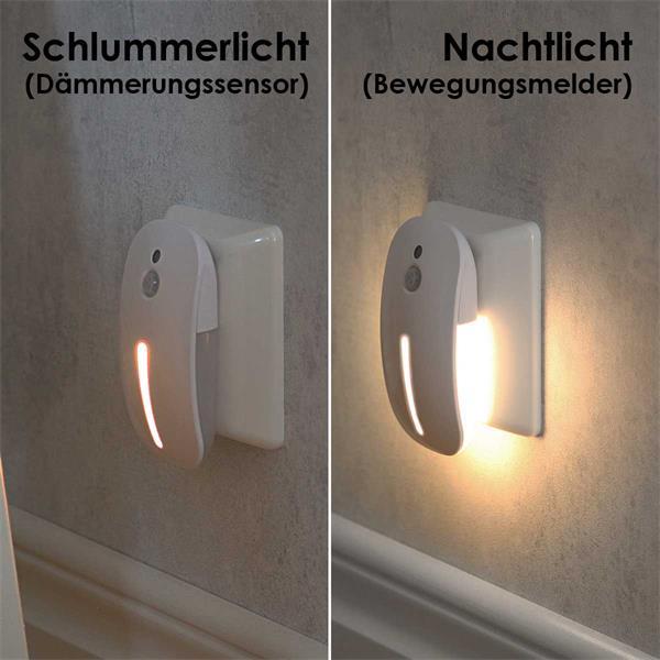 Orientierungslicht mit verschiedenen Leuchtmodis und Dauerlicht