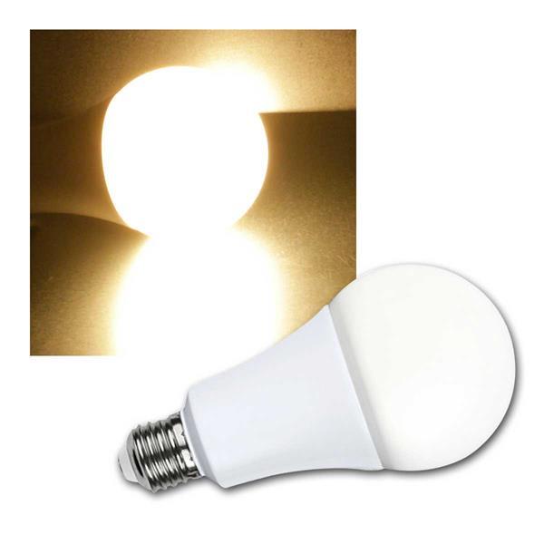 E27 LED Birne 20W 2700K dimmbar, 240° 1900lm 230V