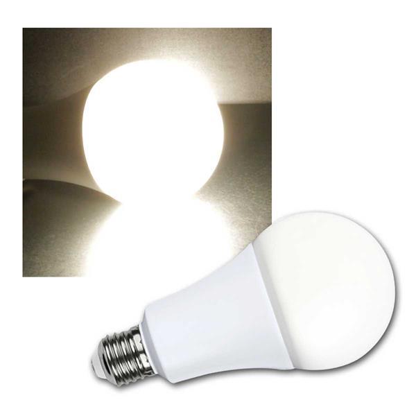 E27 LED Birne 20W 4000K dimmbar, 240° 1900lm 230V