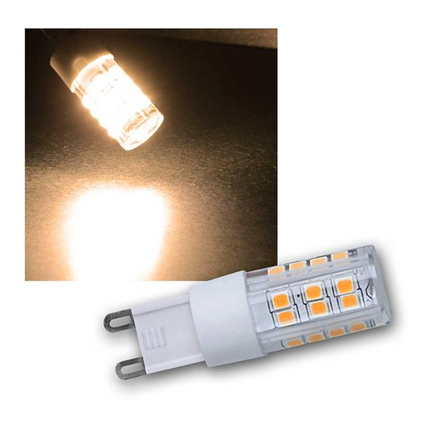 LED Stiftsockel G9 warmweiß 230V/4W, 400lm DIMMBAR