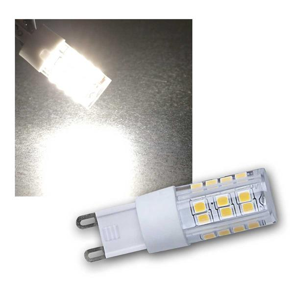 LED Stiftsockel G9 daylight 230V/4W, 400lm DIMMBAR