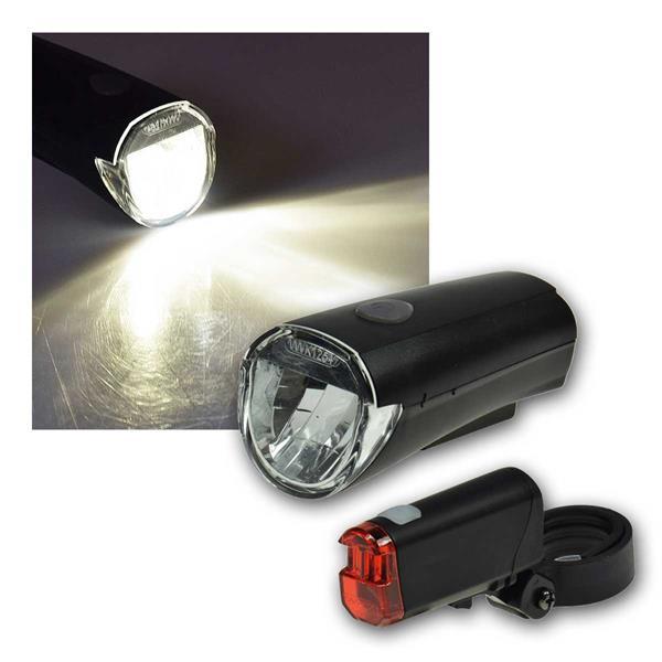 Fahrrad LED-Beleuchtungsset CFL 30 30Lux