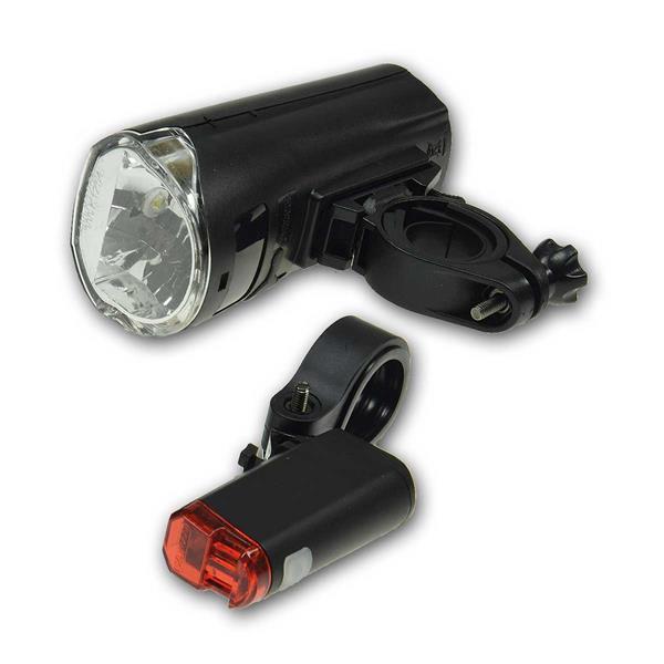 StVZO zugelassen, Batteriebetrieb mit 4x AA und 2x AAA