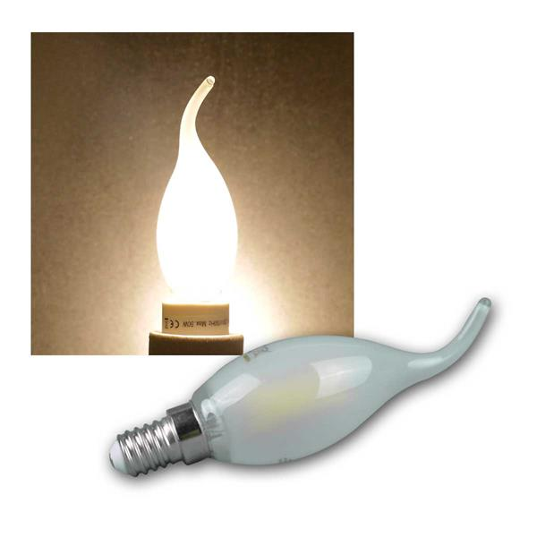 led windsto kerzenlampe e14 warmwei 480lm 4w. Black Bedroom Furniture Sets. Home Design Ideas