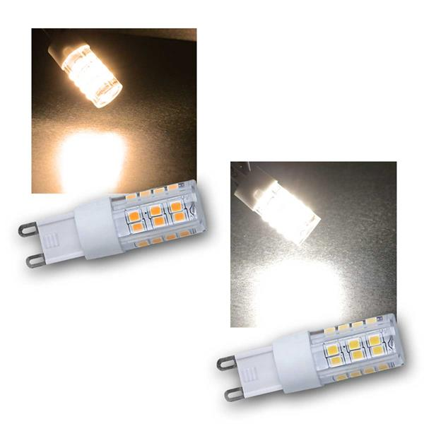 LED Stiftsockel G9 warm/neutral 230V/4W DIMMBAR